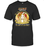 June Woman The Soul Of A Mermaid Birthday T-shirt
