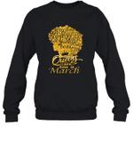 Black Queens Are Born In March Birthday Gift Crewneck Sweatshirt