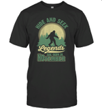 Hide And Seek Legends Are Born In November Birthday T-shirt