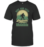 Hide And Seek Legends Are Born In March Birthday T-shirt