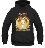 June Woman The Soul Of A Mermaid Birthday Hoodie Sweatshirt