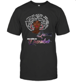 African Queens Are Born In December Birthday T-shirt