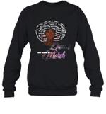 African Queens Are Born In March Birthday Crewneck Sweatshirt