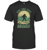Hide And Seek Legends Are Born In August Birthday T-shirt
