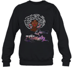 African Queens Are Born In January Birthday Crewneck Sweatshirt