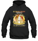 February Woman The Soul Of A Mermaid Birthday Hoodie Sweatshirt