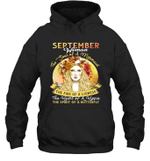 September Woman The Soul Of A Mermaid Birthday Hoodie Sweatshirt