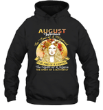 August Woman The Soul Of A Mermaid Birthday Hoodie Sweatshirt