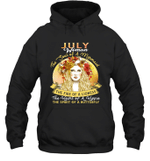 July Woman The Soul Of A Mermaid Birthday Hoodie Sweatshirt