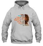 I m An April Woman Funny Birthday Hoodie Sweatshirt
