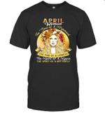 April Woman The Soul Of A Mermaid  Birthday T-shirt