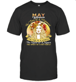 May Woman The Soul Of A Mermaid Birthday T-shirt