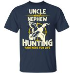 Uncle And Nephew Hunting Partners For Life T-shirt MT06