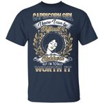 Capricorn Girl T-shirt Birthday I Know I Can Be Difficult & Stubborn Zodiac Tee