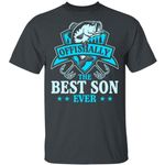Fishing T-shirt Offishally The Best Son Ever Tee MT06
