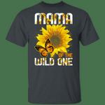 Mama Of The Wild One T-shirt Sunflower Tee MT06