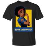 Black Lives Matter Black Girl Power T-shirt MT06