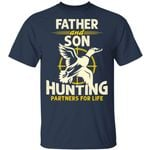Father And Son Hunting Partners For Life T-shirt MT06