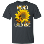 Nana Of The Wild One T-shirt Sunflower Tee MT06