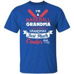 I'm A Baseball T-shirt Family Grandma Like Other Grandmas Tee