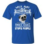 Pug T-shirt Family I Am A Grumpy Old Man Tee