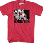 1986 Transformers Movie Such Heroic Nonsense Megatron T-Shirt 80S CARTOON T Shirt
