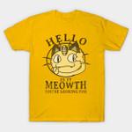 Meowth T-Shirt Anime hello Lionel Ritchie Meowth Nintendo Parody Pokemon Video Game T Shirt