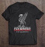 UEFA Champions League Champions 1 June 2019 Sport T Shirt