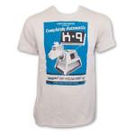 Doctor Who K-9 Shirt Doctor Who dog robot TV T Shirt