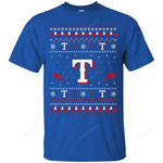 Texas Rangers Stitch Knitting Style T Shirt bestfunnystore.com T Shirt