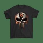 Cincinnati Bengals The Punisher Mashup Football Shirts Cincinnati Bengals football NFL skull The punisher T Shirt