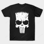 Punish Springfield T-Shirt Bart Simpson Cartoon Parody Punisher The Simpsons TV T Shirt