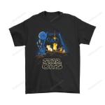 Darth Vader Cats Star Wars Shirts Animal cat Darth Vader Death Star droid R2-D2 Star Wars T Shirt