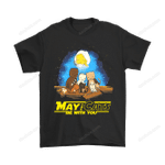 May The Cats Be With You Star Wars Shirts Animal cat Star Wars the force T Shirt