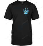Paw Collection Blue Dog T Shirts bestfunnystore.com T Shirt