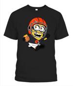 Minion Browns NFL Cleveland Browns T Shirt