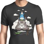 Haunted Neighbors Graphic Arts T Shirt