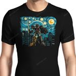 Starry Megazord Graphic Arts T Shirt