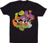 Space Jam T-Shirt basketball Bugs Bunny Cartoon Daffy Duck Marvin the Martian movie Space Jam Taz TV T Shirt