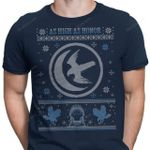 White Falcon Sweater T-Shirt As High As Honor Game of Thrones House Arryn Iron Throne Parody TV ugly Christmas sweater T Shirt
