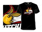 The Snitches T-Shirt Harry Potter movie Parody quidditch Snitch sports logo T Shirt