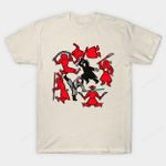 Kylo and Rey Dance T-Shirt Keith Haring Kylo Ren movie Parody Rey Star Wars The Force Awakens T Shirt