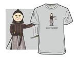 Knife Drop T-Shirt Arya Stark Game of Thrones Parody TV T Shirt