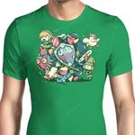 Let's Roll Link Graphic Arts T Shirt