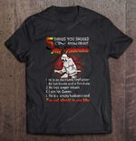 5 Things You Should Know About My Husband He Is An Excellent Firefighter Husband T Shirt
