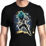 The Saiyan Prince Graphic Arts T Shirt
