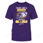 096 NOT JUST SON LSU Tigers T Shirt