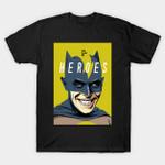 Heroes T-Shirt Batman David Bowie DC Comics Mashup Superhero T Shirt