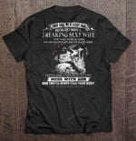 They Call Me A Lucky Man Because I Have A Freaking Sexy Wife She Was Born In April Tattooed Wife Version Wife T Shirt