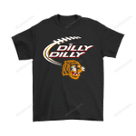Bud Light: Dilly Dilly! Tennessee State Tigers Neon Light Shirts Bud Light Dilly Dilly football NCAA Neon Light NFL Tennessee State Tigers tigers T